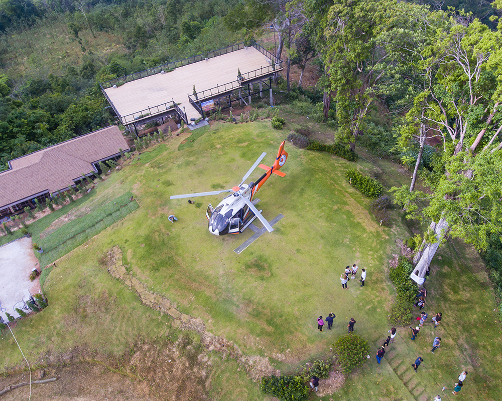 Helicopter tours and activities in Phuket