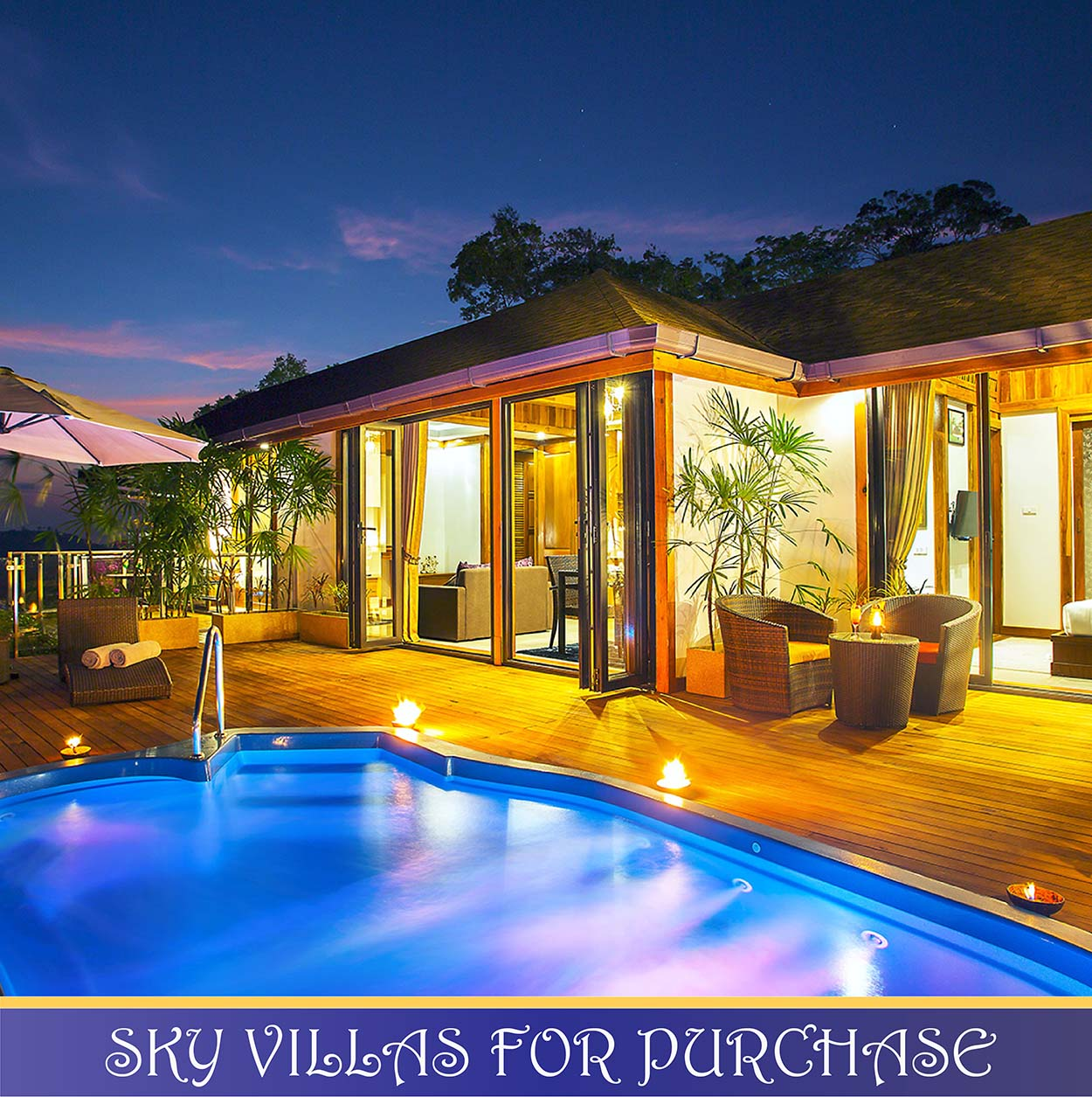Sky Villas promotional sale